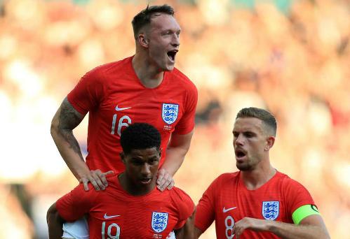 Tuyển Anh giành cả hai chiến thắng trong quá trình tập huấn chuẩn bị cho World Cup 2018.