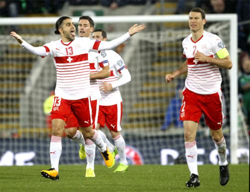 Rodriguez mang tinh thần chiến binh mà Thụy Sỹ rất cần để vượt qua những trở lại.