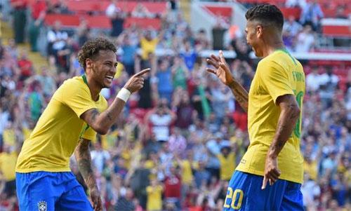 Brazil có cơ hội lớn để giành danh hiệu thứ sáu. Ảnh: Reuters