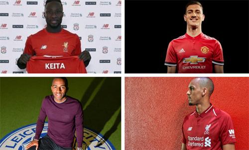 Liverpool và Man Utd sớm cho ra mắt tân binh chuẩn bị cho mùa giải mới.