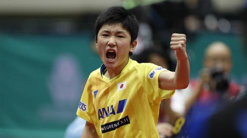 Harimoto tiếp tục là hung thần của bóng bàn Trung Quốc thời gian qua. Ảnh: ITTF.