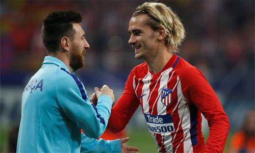 Messi muốn có thêm một đồng đội như Griezmann.