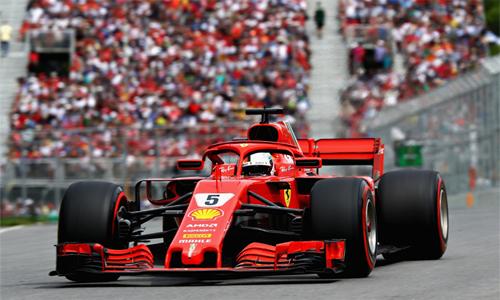 Lợi thế xuất phát đầu cộng với việc các đối thủ chính gặp khó khăn giúp Vettel thoải mái hoàn thành chặng đua và có chiến thắng thứ 50 trong sự nghiệp.