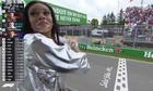 Người mẫu khiến cuộc đua F1 ở Canada náo loạn
