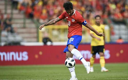 Đây là trận giao hữu cuối cùng của cả Bỉ và Costa Rica trước khiđến Nga dự World Cup.