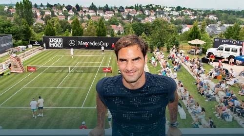 Thành tích tốt nhất của Federer tại giải chỉ là vào đến bán kết, ở lần đầu dự năm 2016. Ảnh: ATP.