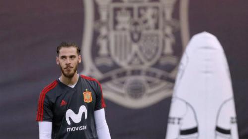 De Gea tin Ronaldo sẽ bị Tây Ban Nha khắc chế. Ảnh: Marca.