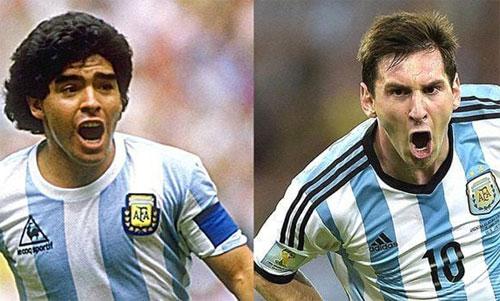 Maradona và đồng đội là thế hệ gần nhất của Argentina vô địch World Cup, trong khi Messi mới chỉ vào chung kết năm 2014.
