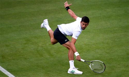 Djokovic hy vọng sẽ trở lại mạnh mẽ hơn ở mùa sân cỏ. Ảnh: Twitter.