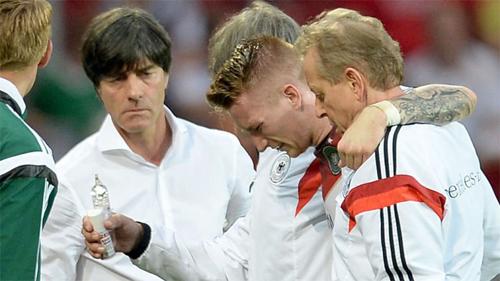 Low luôn xem việc Reus chưa thể cống hiến nhiều cho tuyển Đức là một sự nuối tiếc lớn. Ảnh: Sky.