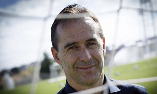 Giống cựu HLV Zidane, Lopetegui chưa có nhiều kinh nghiệm làm HLV ở cấp CLB. Ảnh: Reuters