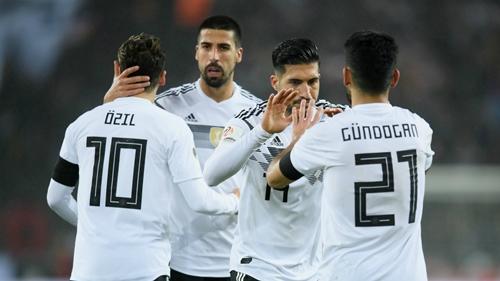 Đức là ứng viên nặng ký cho ngôi vô địch World Cup 2018. Ảnh: Reuters.