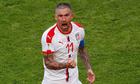 Cựu hậu vệ Man City ghi tuyệt phẩm đá phạt, Serbia thắng trận ra quân