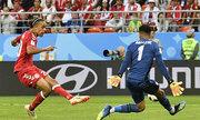 Đan Mạch may mắn hạ Peru ở trận ra quân World Cup 2018