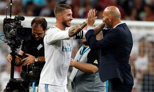 Ramos có thểkhông ngờ dự đoán sớm xảy ra. Ảnh: Reuters
