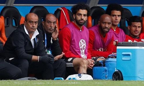 Ai Cập có thể phải mạo hiểm với chấn thương của Salah trong trận gặp Nga. Ảnh: Reuters.