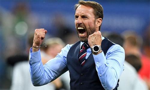 Southgate khởi đầu suôn sẻ tại World Cup 2018. Ảnh: Reuters