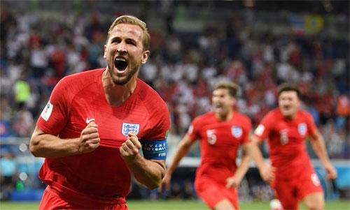 Kane đóng vai người hùng giải cứu tuyển Anh. Ảnh: Reuters