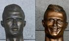 Sân bay quê nhà thay tượng Ronaldo sau cú hattrick ở World Cup