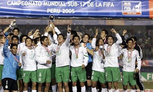 Chức vô địch U17 thế giới năm 2005 đã làm hư cả thế hệ tài năng trẻ mà Mexico tạo ra.