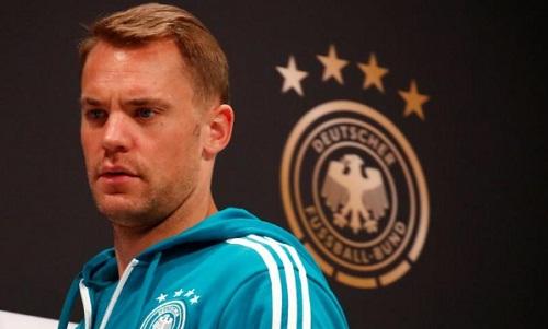 Neuer cho rằng Đức sẽ không đổi đội hình nhưng phải thay đổi về thái độ thi đấu. Ảnh: Reuters.