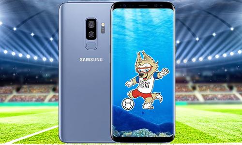 Cơ hội nhận Samsung Galaxy S9 Plus trị giá 25 triệu đồng trong mùa World Cup 2018.