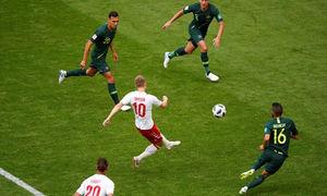 Đan Mạch 1-1 Australia