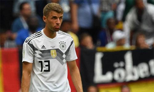 Müller thừa nhận Đức chủ quan trước trận thua Mexico