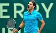 Federer cứu hai điểm match, vào tứ kết Halle Mở rộng