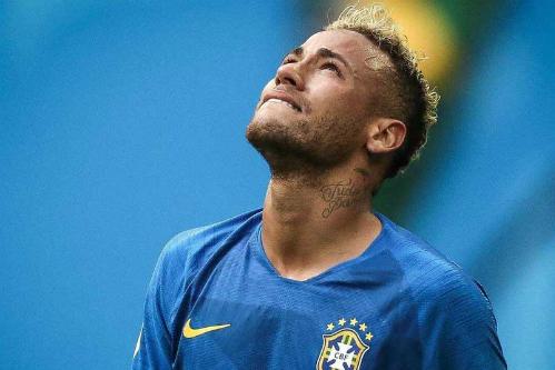 Neymar đăng tải thông điệp cùng bức ảnh rơi lệ trên mạng xã hội. Ảnh:Instagram.