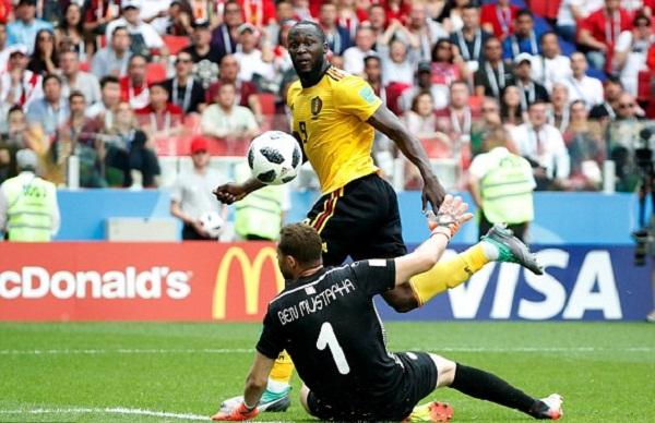 Lukaku đã có bốn bàn tại World Cup 2018, bằng Ronaldo. Ảnh: Reuters.