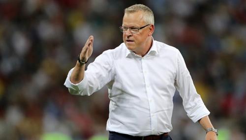 HLV Janne Anderson cho rằng Thuỵ Điển đã chơi hay, xứng đáng có điểm.