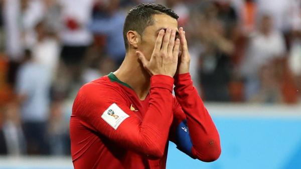 Ronaldo bỏ lỡ cơ hộighi sáu bàn liên tiếp cho đội tuyển quốc gia tại World Cup. Ảnh:FIFA.