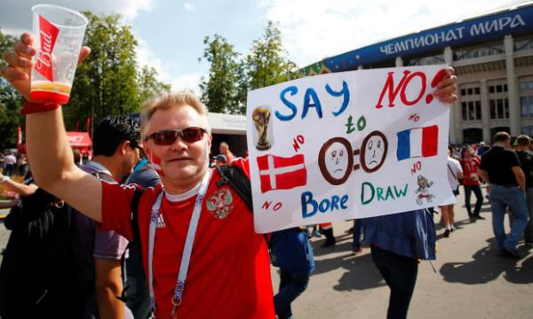 Kết quả 0-0 đã được cảnh báo ttuwf trước trận. Ảnh: Reuters.