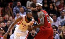 Harden vượt LeBron James, đoạt giải Cầu thủ NBA hay nhất mùa