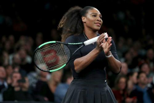 Serena cho rằng các tay vợt nữ cần được bảo đảm quyền lợi sau thời gian nghỉ sinh con. Ảnh:AFP.
