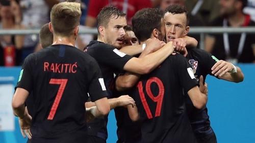 Croatia toàn thắng ở vòng bảng World Cup 2018. Ảnh: AP.