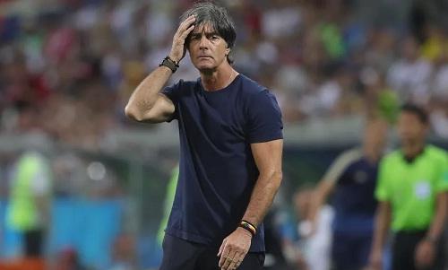 Low cho rằng Đức xứng đáng bị loại. Ảnh: Reuters.