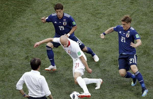 Nhật Bản đáng ra đã có thể thi đấu dễ dàng hơn, nếu có sự tính toán chính xác về chiến thuật. Ảnh: AP.