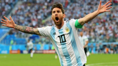 Messi đã nổ súng ở World Cup 2018. Ảnh:FIFA.