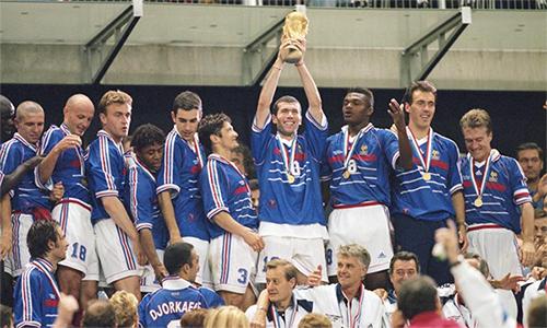 Chức vô địch của thế hệ Zidane, Deschamps năm 1998 là đỉnh cao duy nhất của Pháp ở đấu trường World Cup.