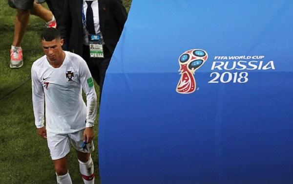 Ronaldo một lần nữa lỗi hẹn với chức vô địch World Cup. Ảnh: Reuters.