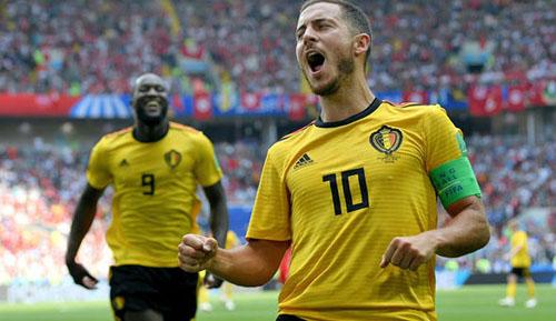 Hazard cho rằng năm nay là thời cơ vàng để Bỉ có được chức vô địch thế giới.