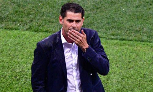 Nhiệm kỳ của Fernando Hierro nhiều khả năng chỉ kéo dài được bốn trận. Ảnh: Marca