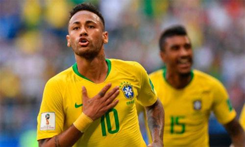 Brazil đang tiến đến gần chức vô địch lần thứ sáu. Ảnh: Reuters