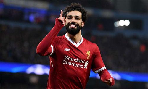 Salah nhiều khả năng sẽ thi đấu dài hạn cho Liverpool. Ảnh: Reuters