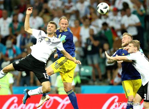 Sự chắc chắn của Granqvist là một nhân tố quan trọng giúp Thụy Điển đi tiếp trong bảng đấu có Đức, Mexico và Hàn Quốc.