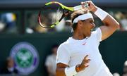 Nadal thắng dễ ở vòng một Wimbledon