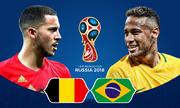 Bỉ - Brazil: Trận chiến giữa hai cỗ máy tấn công
