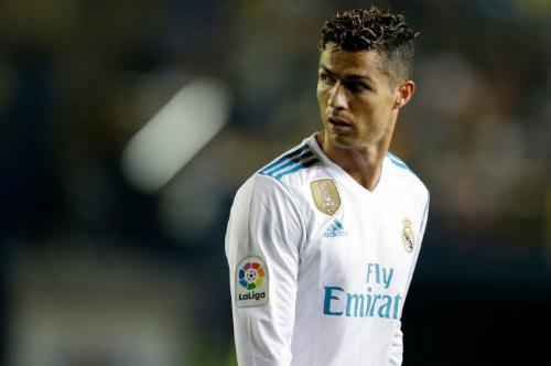 Ronaldo ra đi sau khi giúp Real gặt hái nhiều danh hiệu. Ảnh:AFP.